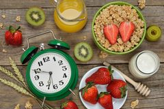 Fasten: Uhr und Lebensmitte