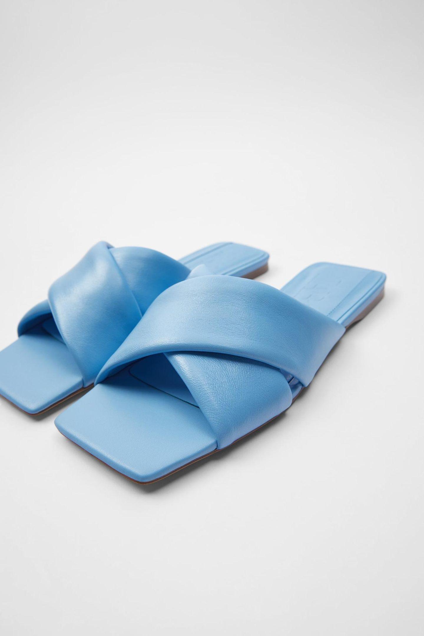 Sommerschuhe: Slip-on Sandalen