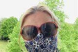 """""""Ein Schutz fürs Lebe"""": Frau mit Maske"""