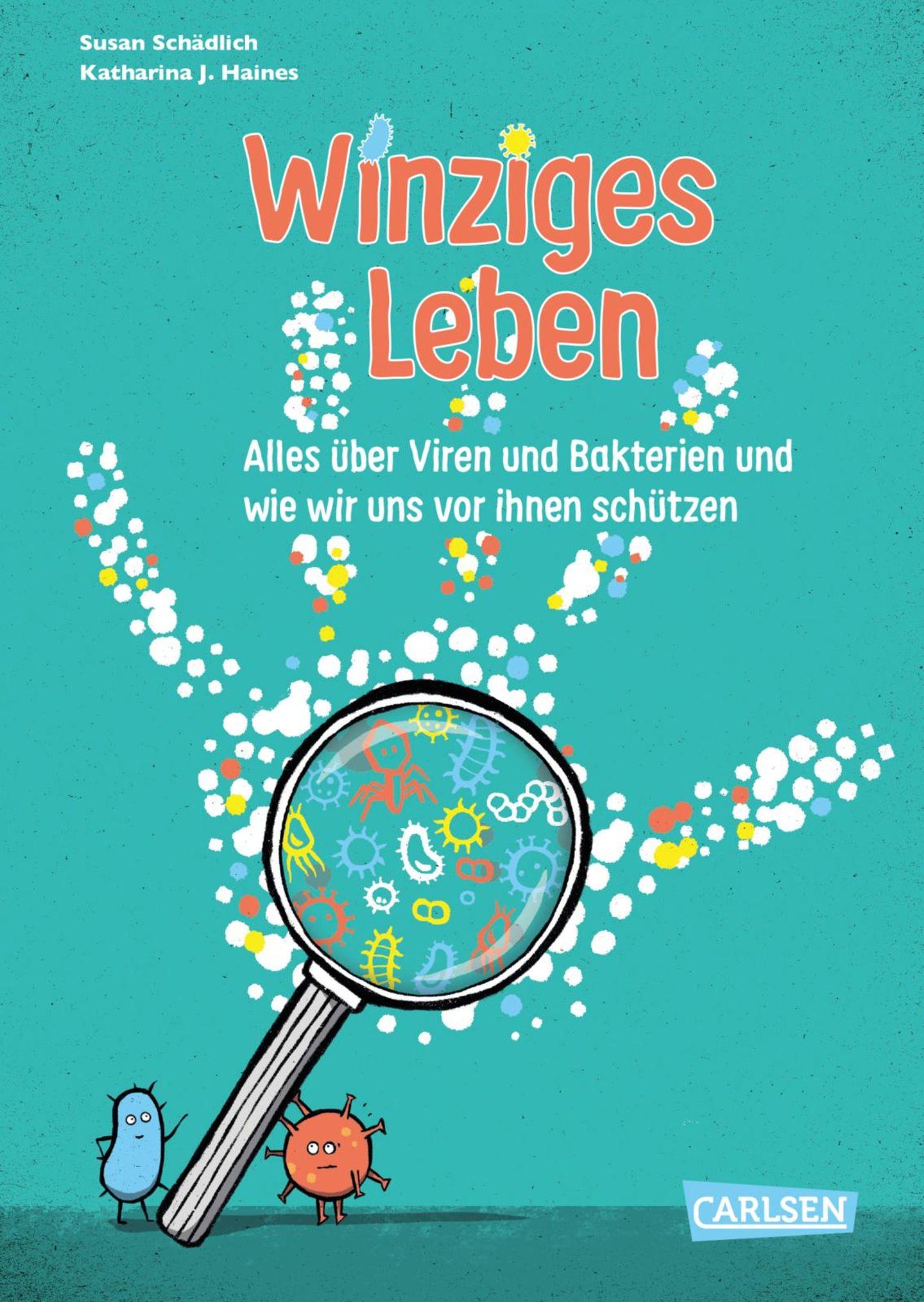 """Buchtipps der Redaktion: Buchcover """"Winziges Leben"""""""
