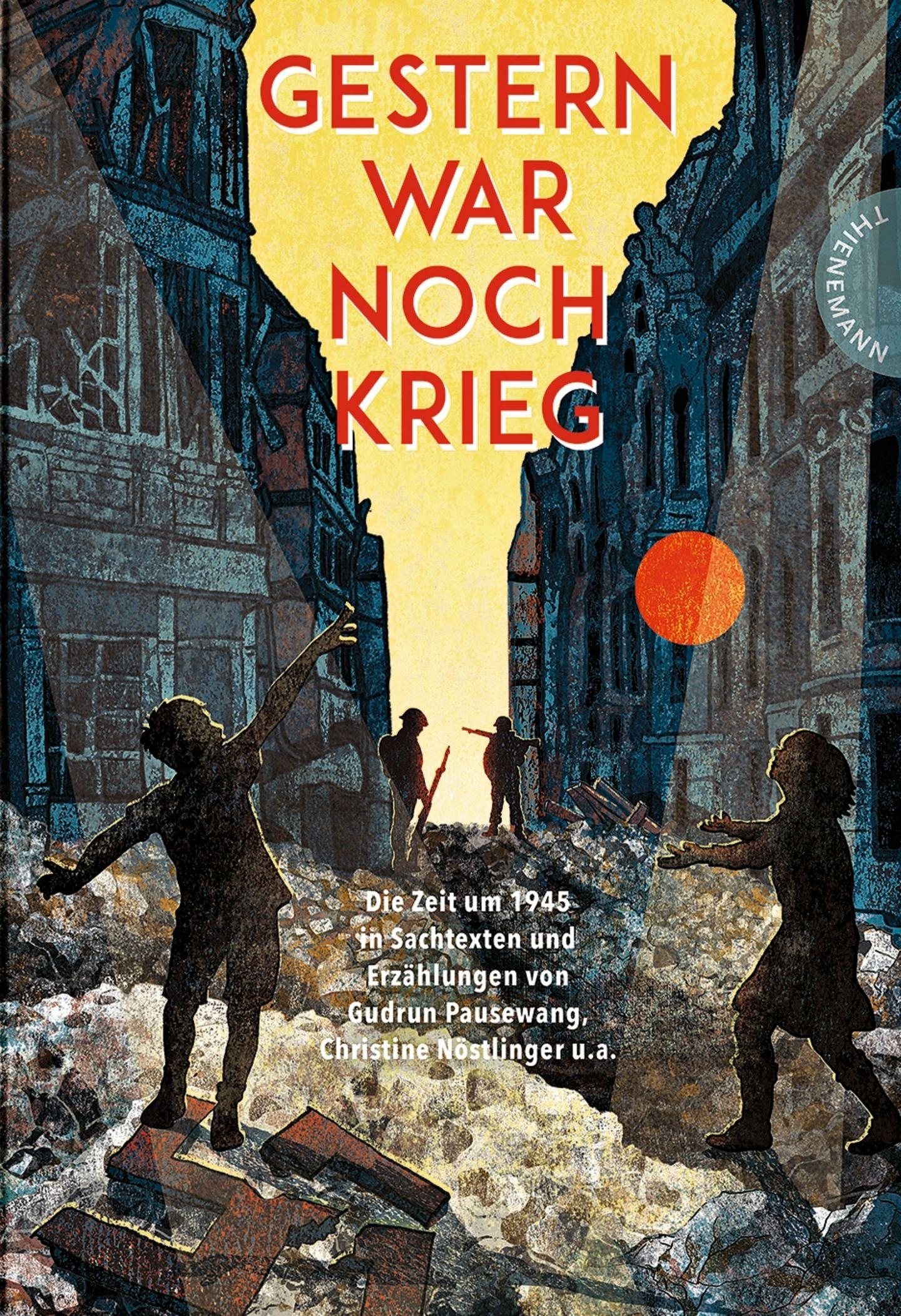 """Buchtipps der Redaktion: Buchcover """"Gestern war noch Krieg"""""""
