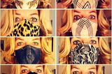 Promis mit Mundschutz: Bettina Tietjen mit Maske