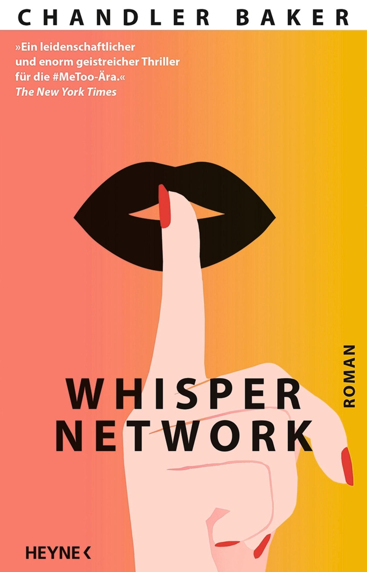 """Buchtipps der Redaktion: Buchcover """"Whisper Network"""""""
