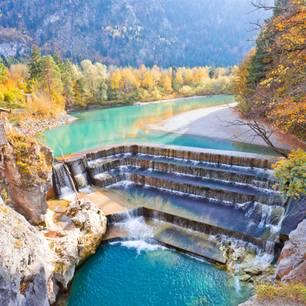 Urlaub in Deutschland: Lechfall