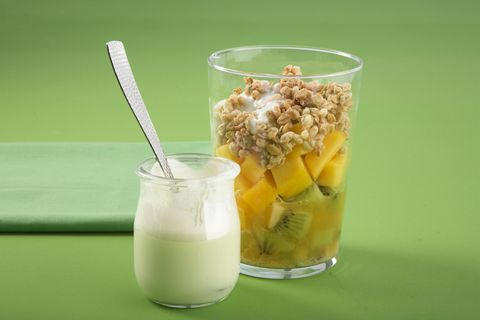 Crunchy-Müsli mit Mango
