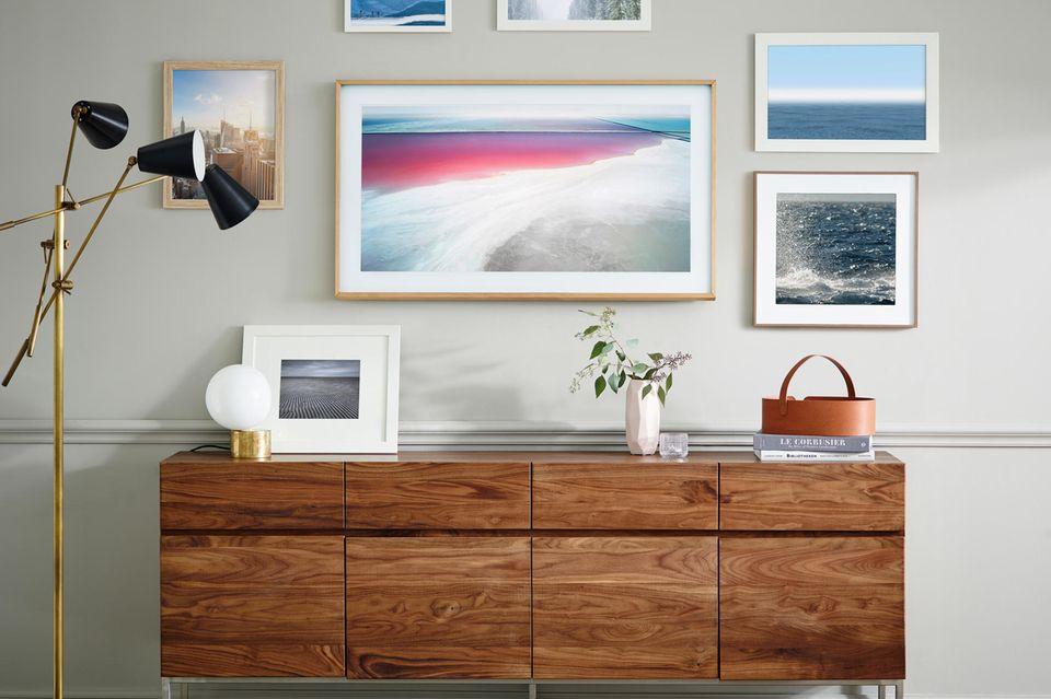 Fernseher verstecken - Samsung Fernseher