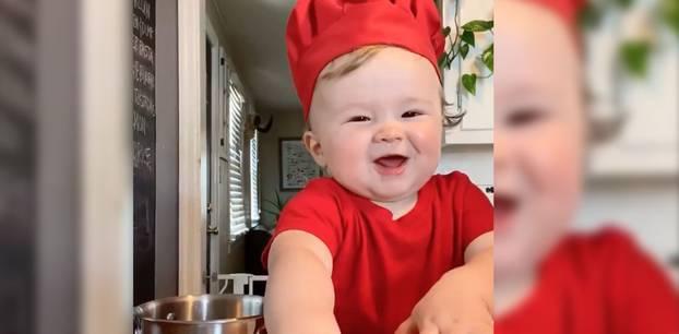 Einjähriger Meisterkoch verzaubert das Netz