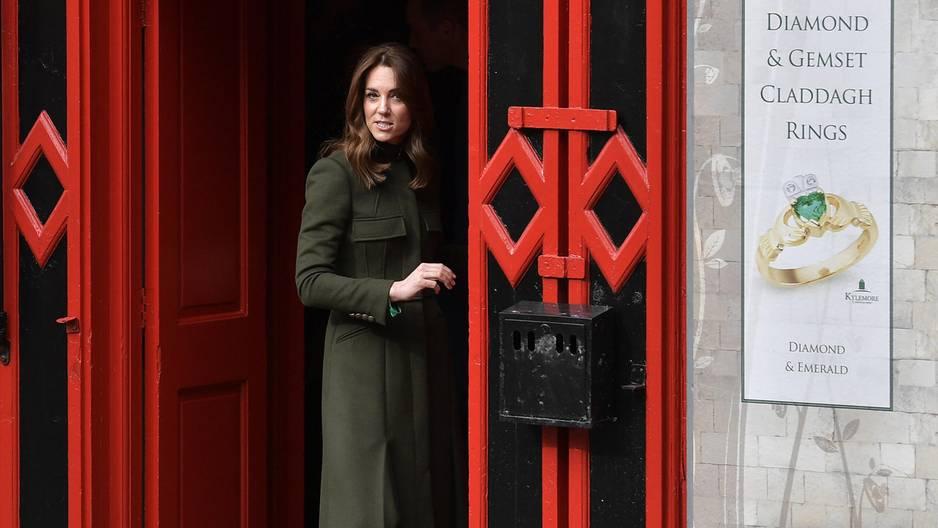 """Kate Middleton: Stress durch """"Megxit"""""""