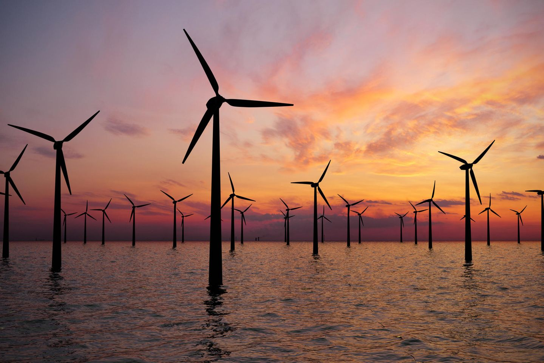 Gegen Windmühlen kämpfen: Windanlagen-Park