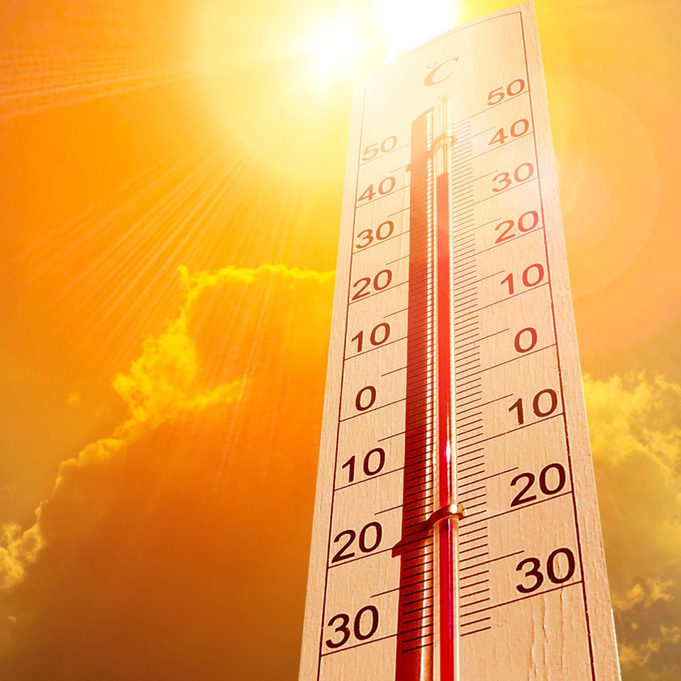 Hitzesommer 2020: Thermometer
