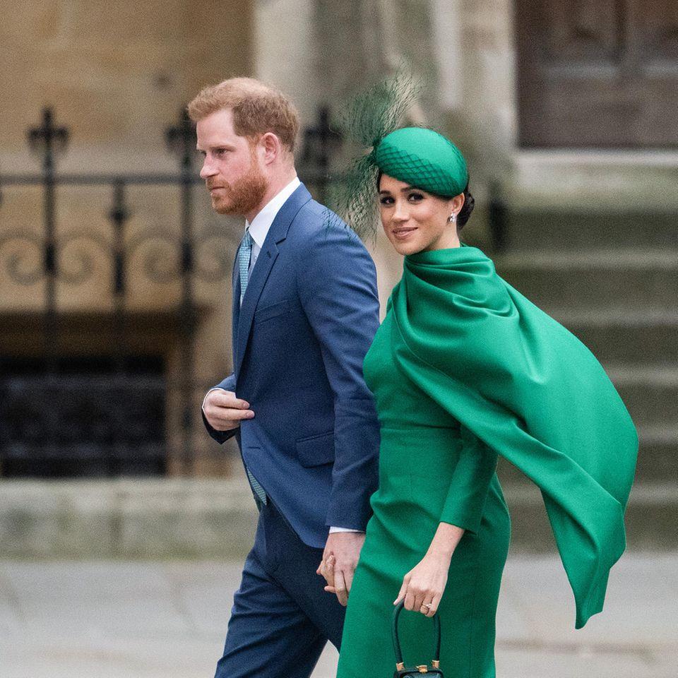 Prinz Harry + Herzogin Meghan: Drohnen bedrohen ihr neues Zuhause