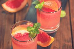 Cocktail Paradiesapfel