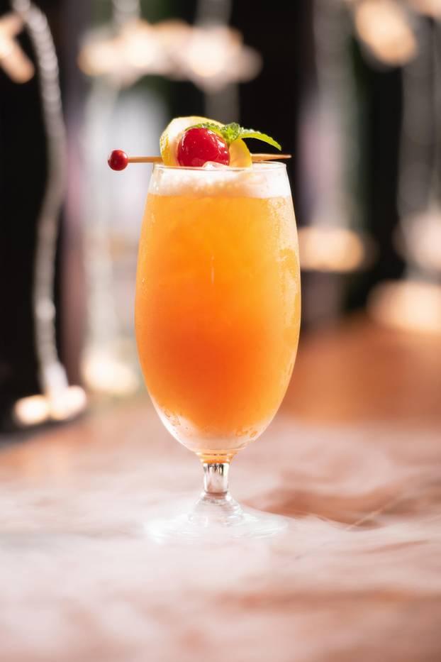 Robinson Crusoe cocktail
