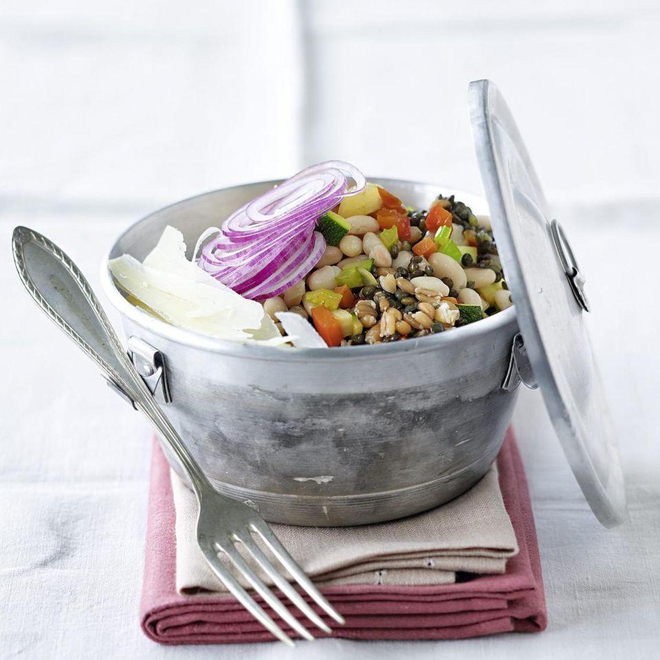 Hülsenfrüchte-Salat