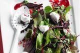 Rote-Bete-Salat mit Ziegenfrischkäse