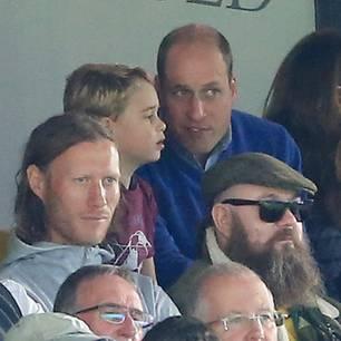Prinz William erzählt: Süßer Fauxpas von Prinz George beim Fußballspiel