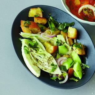 Fenchel-Brot-Salat