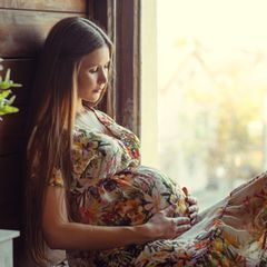 Coronavirus schadet Plazenta: Schwangere Frau