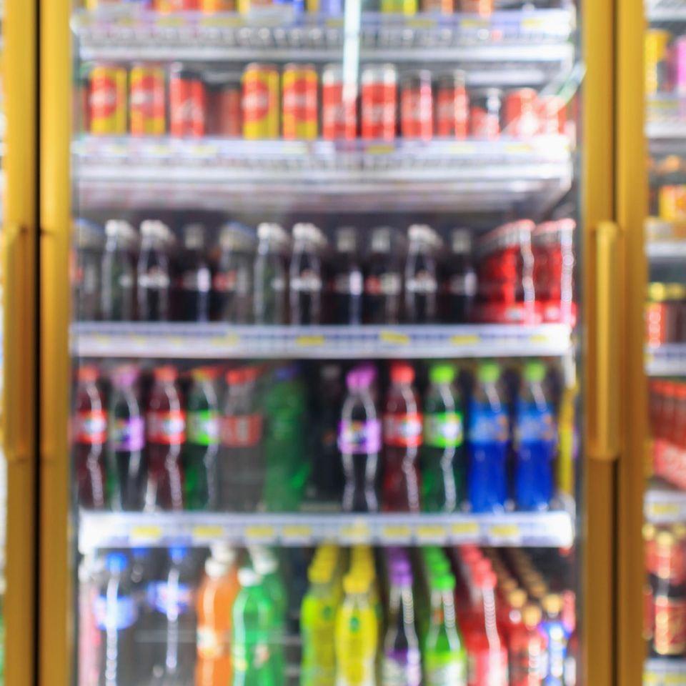 Polizei: Getränke im Supermarkt