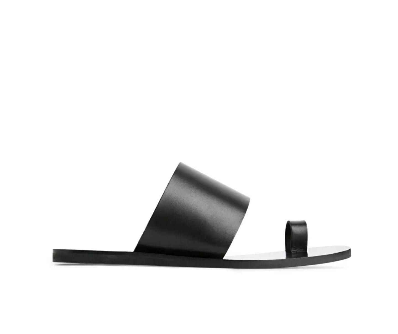 Flasche Schuhe: Sandale mit Zehring