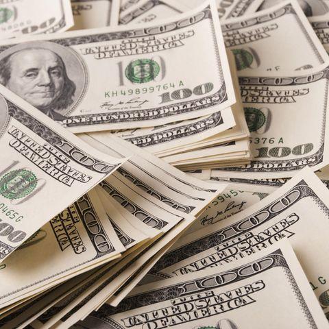 Geld stinkt nicht: US-Dollar Scheine