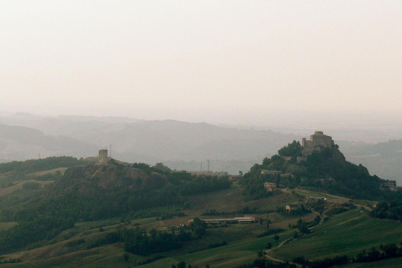 Gang nach Canossa: Berge von Canossa