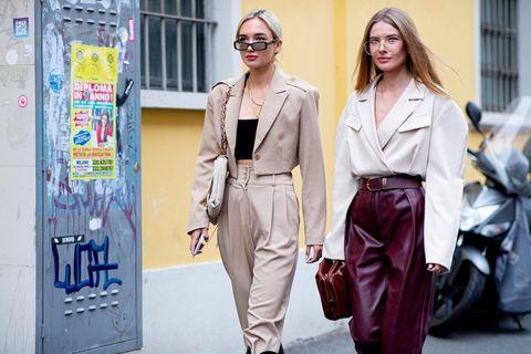 Hochwertige Looks: Milan Fashion Week
