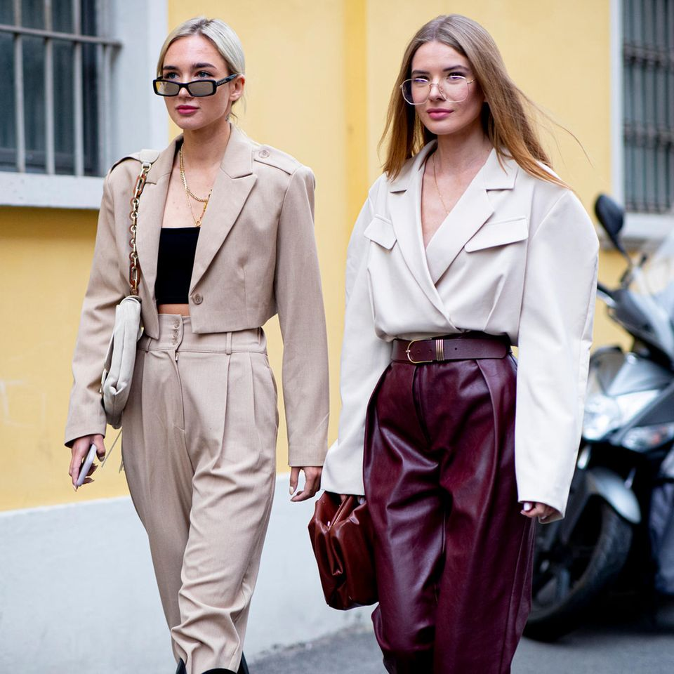 Hochwertige Looks: Milan Fashion Week