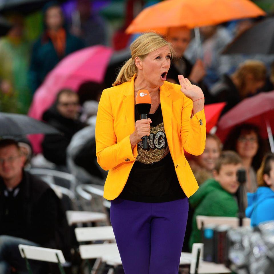 ZDF-Fernsehgarten: Andrea Kiewel enthüllt - das ist ein No-Go bei Männern