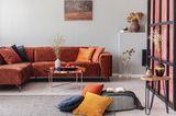Wohntrends Sommer 2020: Samt Sofa