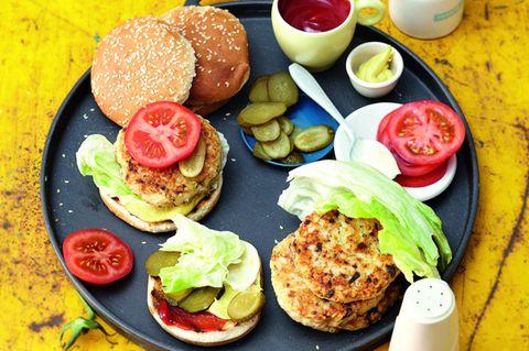 Grillen ohne Fleisch: Veggie-Burger