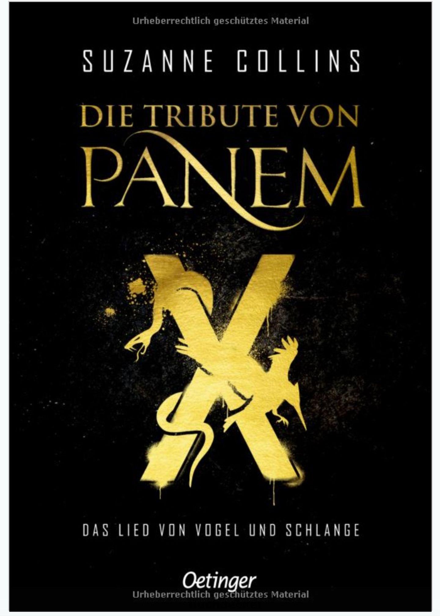 Die Tribute von Panem X Cover
