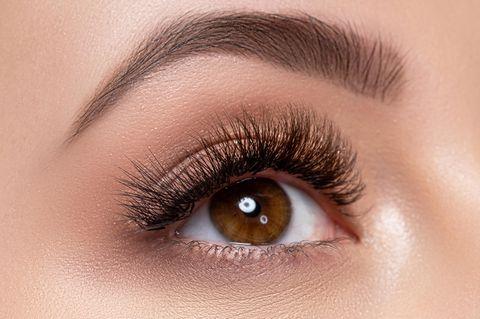 Argusaugen: Auge einer Frau