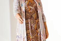 Sommerkleider: Kimono mit Strasssteinen