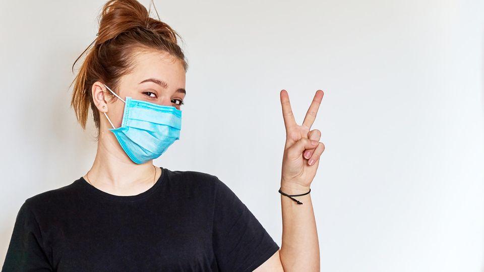 Unbequeme Maske - dieser Trick hilft