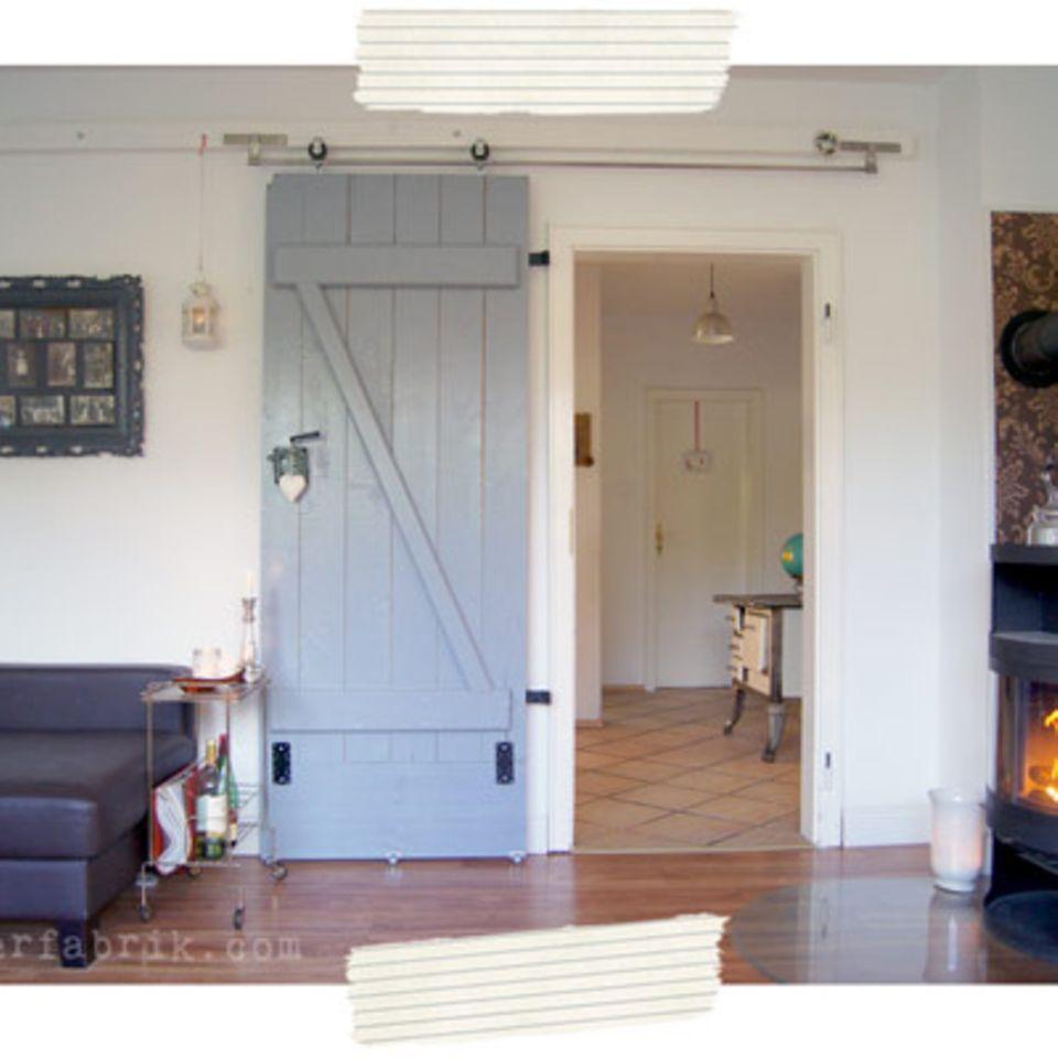Schiebetür bauen: Von der Kellertür zur Wohnzimmertür