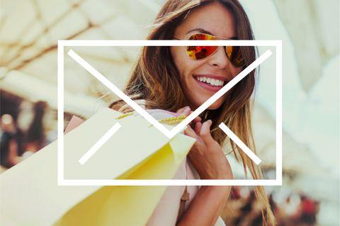 Bild für Shopping-Newsletter