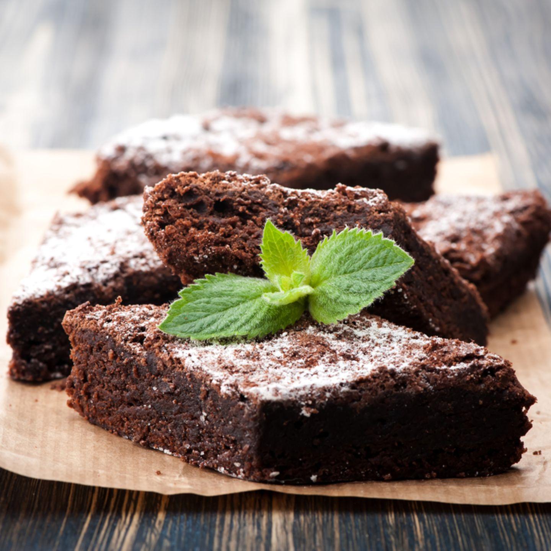 Backen ohne Zucker: Brownies