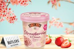 Sommer, Sonne, Strawberry - So schmeckt Baileys Eis