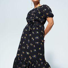 Beine kaschieren: Maxi-Kleid