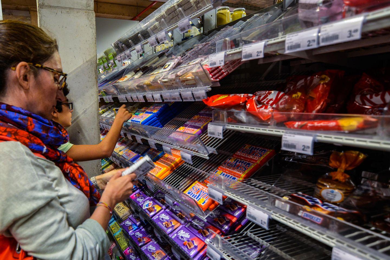Rückruf: Schokolade im Supermarkt