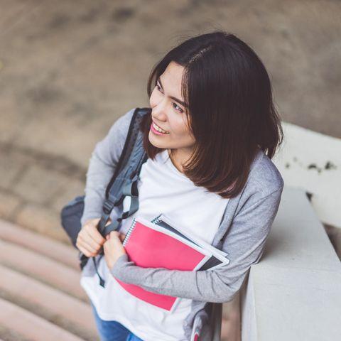 Studieren mit Fachabitur: Studentin