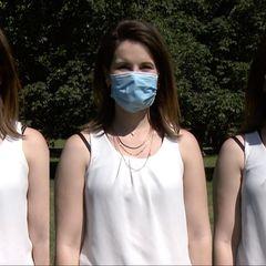 Welcher Mundschutz ist im Sommer am angenehmsten?