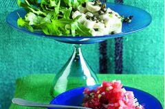 Wassermelonen-Tatar & Pulpo-Salat