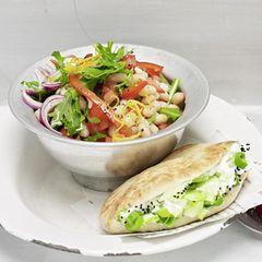 Lauwarmer Tunfisch-Bohnen-Salat