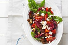 Rote-Bete-Tomaten-Salat