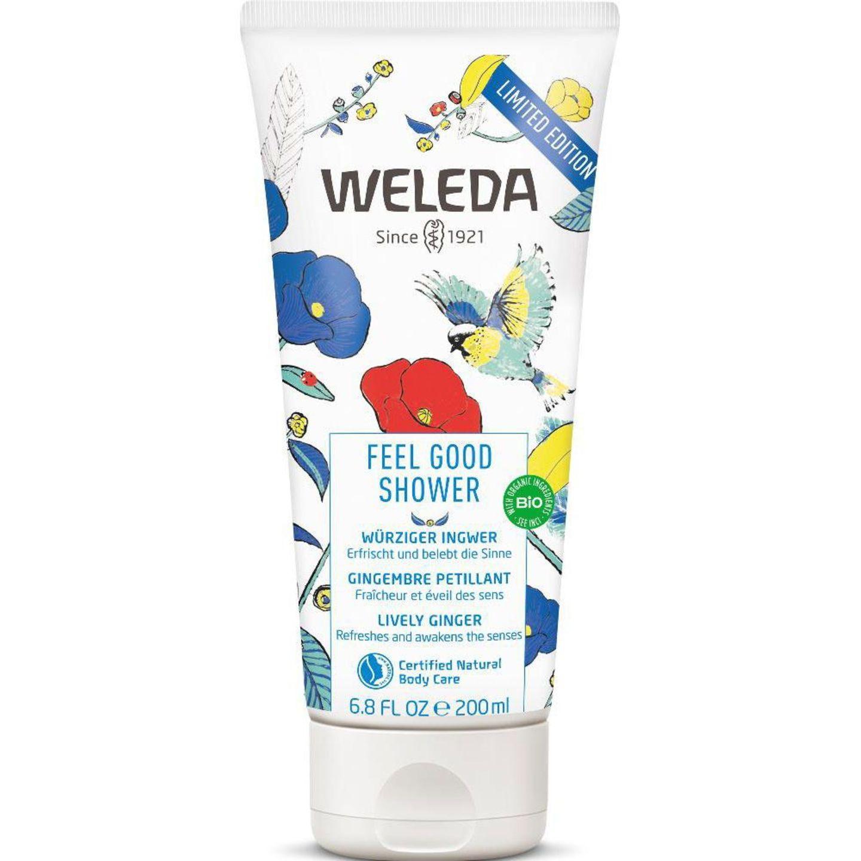 Dieses Showergel sorgt für Urlaub-Vibes unter der Dusche. Wie? Mit dem lebendig-spritzigen Duft aus Ingwer, Citronella und Zedernholz, der unsere Haut nach einem heißen Sommertag erfrischt und uns gute Laune macht! Limited Edition von Weleda, etwa 7 Euro.