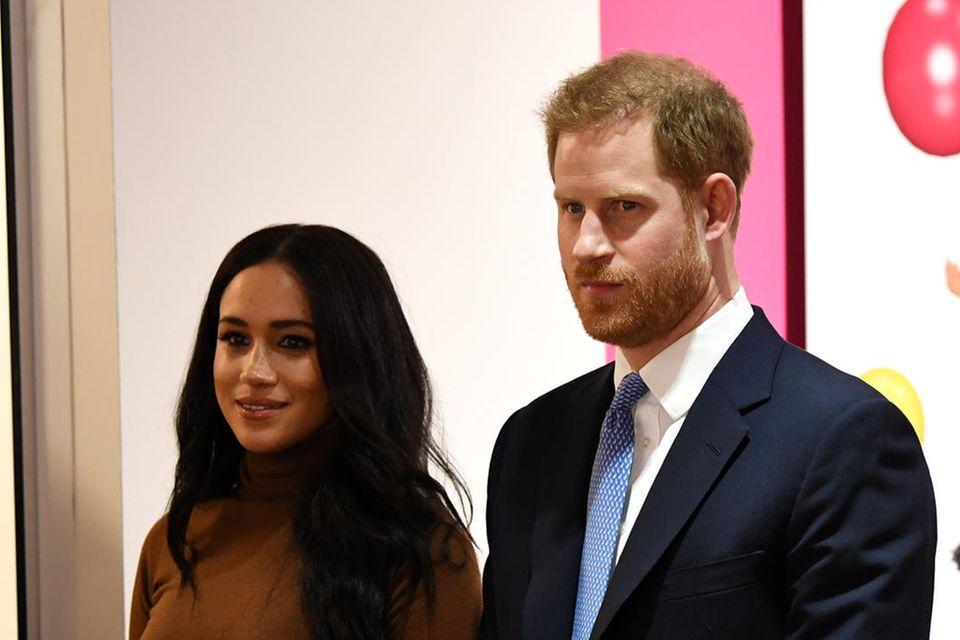 Prinz Harry + Herzogin Meghan: Wut und Betretenheit nach ihren Baby-News