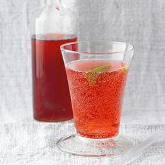 Kirsch-Limetten-Cocktail