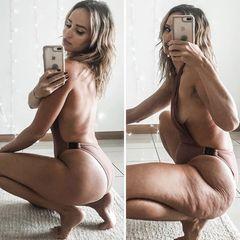 Influencerin zeigt Instagram-Schwindel